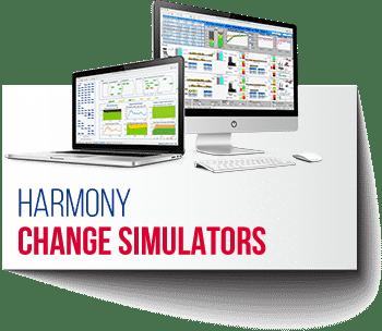 Harmony Change Simulators