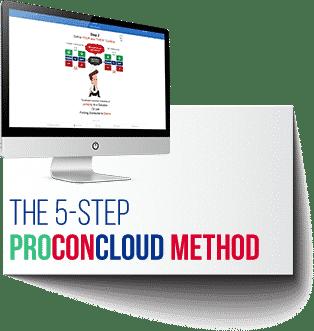 The 5 Step ProConCloud Method